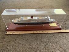 Queen Mary 2    Cruise Ship Model 15 inch 1:900 Scherbak Cunard Line