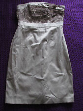 Red Herring special edition dress with lace & corsages size 10 formal party