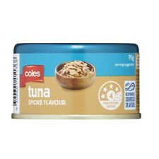 BULK Buy - 2 X Coles Smoke Flavour Tuna 95g