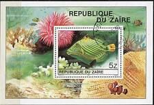 ZAIRE / CONGO DR 1980 TROPICAL FISH S/S ANIMALS A8