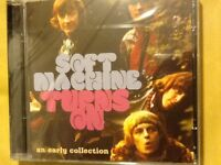 SOFT. MACHINE.    SOFT. MACHINE. TURNS. ON.    Early. collection.   TWO CDS