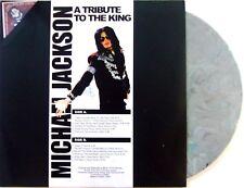 MICHAEL JACKSON VINYL LP A TRIBUTE TO THE KING - VINYL COULEUR - COLORED VINYL