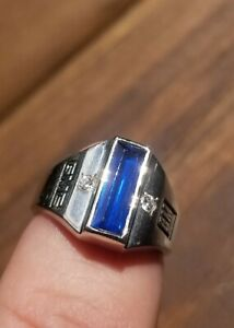 10k White Gold GM Mark of Excellence General Motors Performance Sales Award Ring