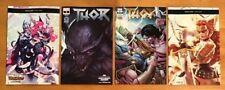 Thor 8 2018 Mike Del Mundo Main Cover + B,C,D Variants 1st Prints  Marvel NM+