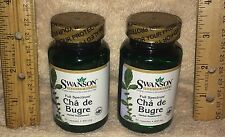 (2) Cha de bugre, from Swanson >>>    (120 Day Supply)  400 mg per capsule