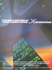 5/1989 PUB TEXTRON LYCOMING ALF 502 TURBOFAN UNITED EXPRESS BAE 146 ORIGINAL AD