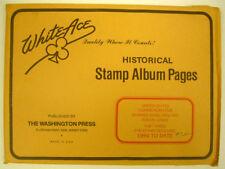 WHITE ACE -  COMMEM POSTAL CARDS & ENVELOPES  PAGES - PT 3  1994-1997   #WA-CPC3