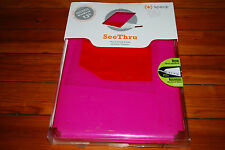 """NEW Speck Clear Pink Candyshell Case (Fits 13"""" Apple MacBook)"""