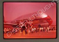 Original '62 Ektachrome Slide Aero Spacelines Pregnant Guppy Airline Plane 10M29