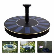 Solar Water Fountain Pump Floating Solar Panel with 4 Spray Heads for Different