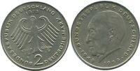 2 DM 1973 F K.Adenauer BRD Germany #AG278.3DW