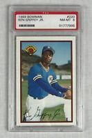 1989 Bowman Ken Griffey Jr. #220 Baseball Card NM-MINT - PSA 8