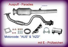 Auspuff SEAT TOLEDO II 1.6 105PS Rohr Auspuffanlage K59A