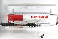 Fleischmann 5298 DYWIDAG Tiefladewagen, NEUWERTIG, OVP und RUNGEN!!!!