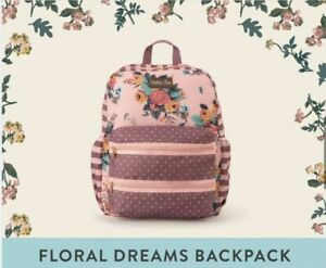 Girls Matilda Jane Wonderment Floral dreams backpack bag NEW