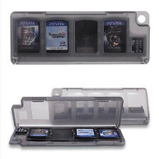 10 in 1 Plastic Game Memory Card Storage Holder Case Box for Sony PS Vita PSV