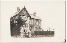 Unidentified Detached Victorian Villa RP PPC Location Unknown, Unposted, c 1910