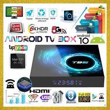 T95 Smart TV Box Android 10 WiFi 2/4GB + 16/32/64GB 6K 4K Allwinner Quad Core