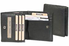 Rinaldo - Wiener Schachtel - kleine Geldbörse ca. 9,9 X 9,2 cm - Neu Rindsleder
