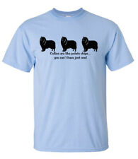 Collie Dog Potato Chips,can't have just one T-shirt or Pillow (S) Smooth rough