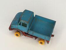 Lesney Unimog Pickup Truck Vintage Toy Matchbox Series No. 49 Blue Red