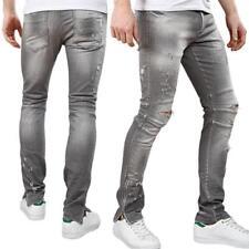 Jeans da uomo regolare Casual Taglia 34