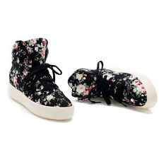High-Top Sneakers aus Canvas für Damen