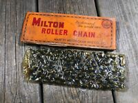 VINTAGE MILTON ROLLER CHAIN 1/2 x 3/32 x 116 LINKS VINTAGE BIKE BICYCLE NOS NIB
