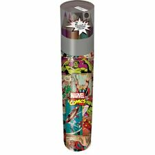Marvel Comics Retro Colouring Pencil Tube Set - School Travel Stationery