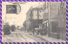 VITRY - La Place de la mairie - station du tramway