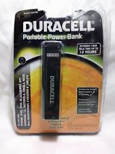 DURACELL PORTABLE POWER BANK 2600 RECHARGEABLE LITHIUM BATTERY MODEL DU7186
