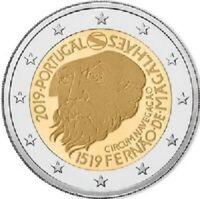 2 Euros Commémorative Portugal 2019 Magellan UNC
