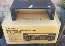 Yaesu FT-920 Transceiver Ham Radio's Top Cover Case & Original Boxes