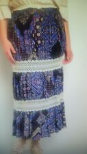 PLUS SIZE SKIRT LACE LAYERS