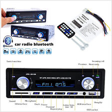 DC12V In-dash Car Radio Bluetooth V2.0 MP3 Player SD USB WMA FM Hands-free Calls