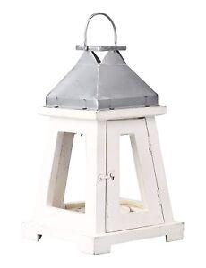 Coastal Lighthouse Lantern - White