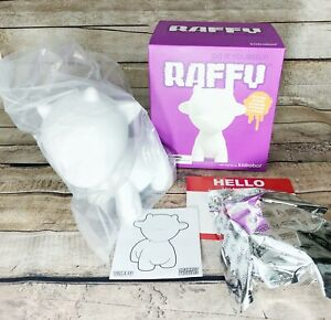 "Kidrobot MUNNYWORLD 6.5"" Raffy Do It Yourself DIY White KR Munny New Blind Box"