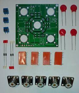 4:1 Kurzwellen Antenne Schalter Bausatz  mit  SO-239 Stecker