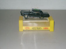 SLOT CAR COLLECTIBLE TJET THE GREEN HORNET (BLACK BEAUTY) #1384 w/BOX NICE!!