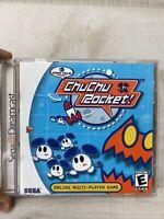 ChuChu Rocket (Sega Dreamcast, 2000) CIB, Tested, Good Overall Complete CIB