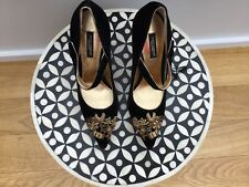 dolce gabbana shoes 3,5 Black Patent