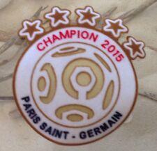 2015 Ligue 1 Paris Saint-Germain Champion Patch Badge Pièce Toppa Parche Flicken