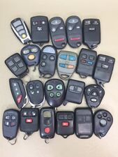 LOT of 22 MIX HONDA GM NISSAN BUICK AND OTHER KEY FOBS REMOTE KEYLESS ENTRY