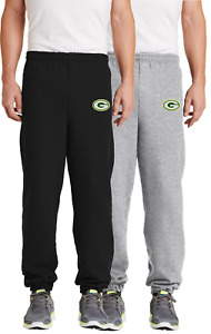 Green Bay Packers Embroidered Sweat Pants - no pockets