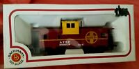 TRAIN CAR HO SCALE BOX CAR  BACHMANN ATSF SANTA FE 36' WIDE CABOOSE VISION