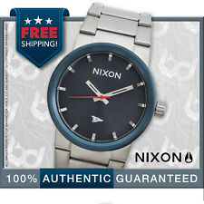 Nixon A160-2429 Men's Cannon Blue Primitive Analog Watch Stainless Band w/Tags!