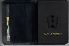 NY/NJ Police-Style-Detective Family Member Mini Book Wallet (Badge Not Included)