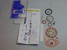 AMAL 376 CARBURETOR REBUILD KIT  BSA TRIUMPH B40 CUB C15 T100 MONOBLOCK