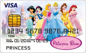 Disney Princess Novelty Plastic Credit Card