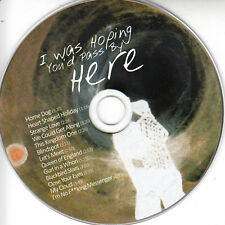 GHOST MUSIC I Was Hoping You'd Pass By Here 2018 UK 11-trk promo test CD
